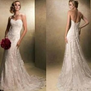 Brand New Maggie Sottero Emma Marie Size 6 Ivory